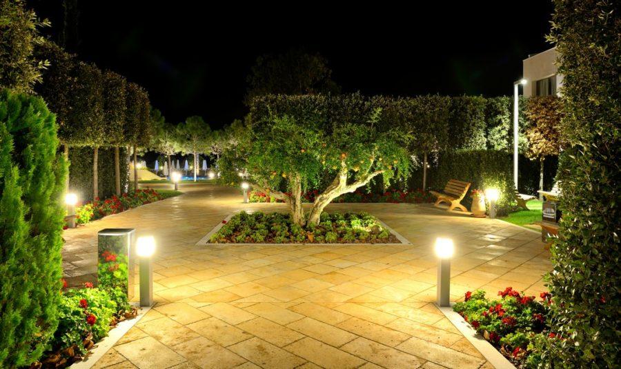 Basic Landscape Lighting Systems