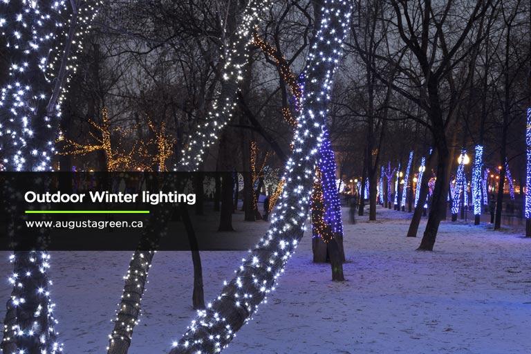 Outdoor Winter lighting