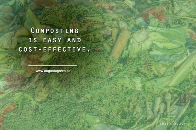 Composting is easy and cost-effective