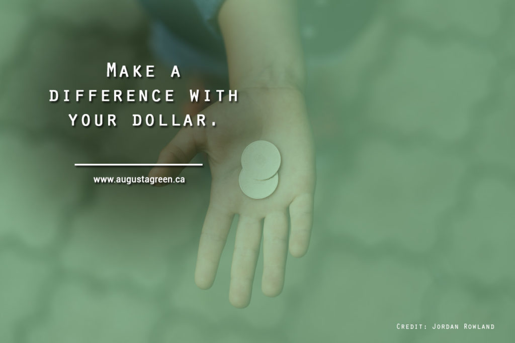 Make a difference with your dollar
