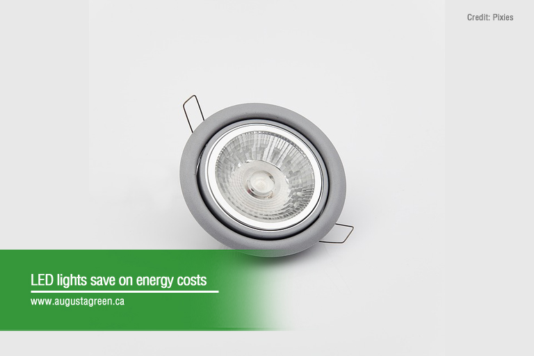 led lights save on energy costs