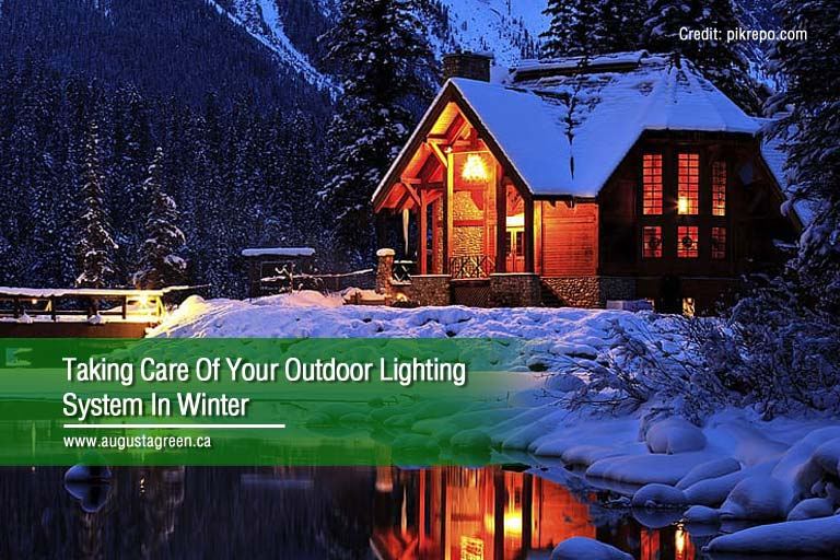 Taking Care Of Your Outdoor Lighting System In Winter