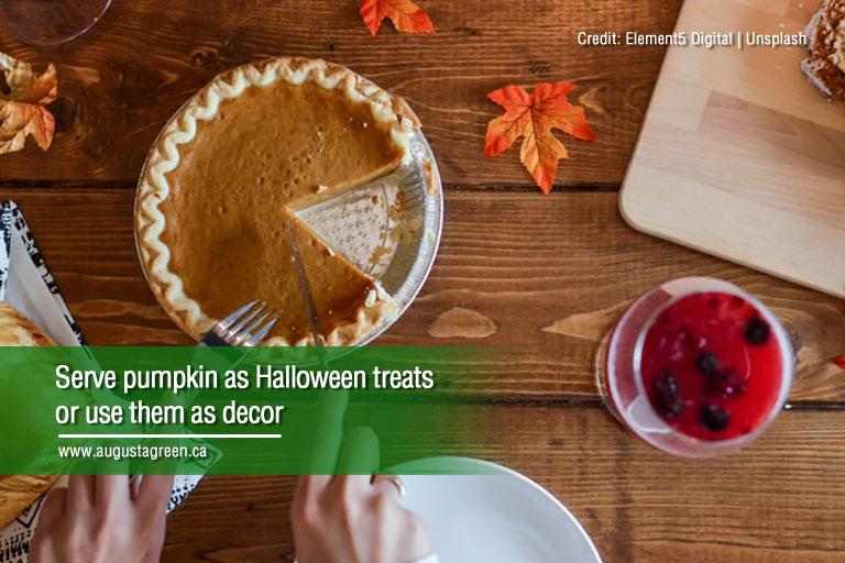 serve as halloween treat