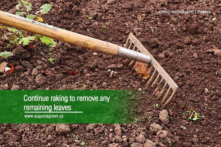 continue raking