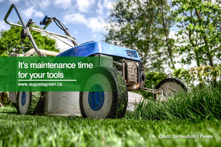 It's maintenance time for your tools