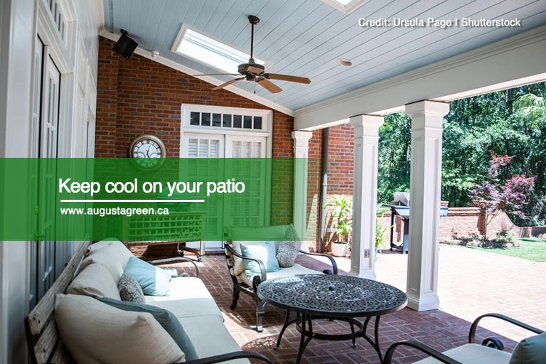 Keep cool on your patio